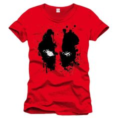 Deadpool - Eyes Homme T-Shirt - Rouge  Amazon.fr  Vêtements et accessoires 5b959ab0e6f