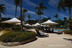 At the Pool at the Shangri La Cebu Resort