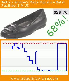 Trotters Women's Sizzle Signature Ballet Flat,Black,5 M US (Shoes). Drop 68%! Current price $29.70, the previous price was $92.99. https://www.adquisitio-usa.com/trotters/womens-sizzle-signature-0