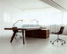 BRIDGE Estación de trabajo by MORGEN Interiors diseño Thomas Tritsch