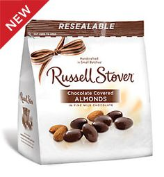 12 oz. bag Milk Chocolate Covered Almonds