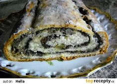 cz - My site Russian Recipes, Strudel, Sweet Cakes, Amazing Cakes, Christmas Cookies, Banana Bread, Food And Drink, Treats, Baking