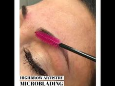 Microblading on sensitive skin. Done by Nicole at Highbrow Artistry located in Lexington KY Sensitive Skin, Kentucky, Brows, Lipstick, Beauty, Eyebrows, Beleza, Eye Brows, Lipsticks