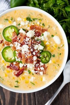 Mexican Street Corn Soup This Mexican Street Corn Soup has all the flavors you love from Mexican street corn all bundled up into one comfort food soup that is to die for! The post Mexican Street Corn Soup appeared first on Woman Casual - Food and drink Best Soup Recipes, Healthy Diet Recipes, Mexican Food Recipes, Vegetarian Recipes, Cooking Recipes, Favorite Recipes, Cooking Tips, Summer Soup Recipes, Mexican Dishes
