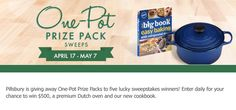 One-Pot Prize Pack Sweepstakes
