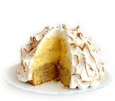 Baked Alaska taart