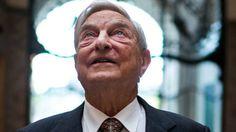 George Soros, fundador do Soros Fund Management, posa para uma foto durante uma…