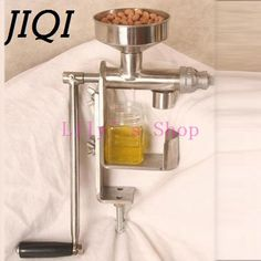 88.52$  Watch here - Manual Oil press machine hand oil presser expeller Extractor peanut seed oil extraction machine maker food grade stainless steel  #SHOPPING