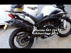 Sonido AKT 250 TT AdvenTour 2016 Motorcycle, Videos, Medellin Colombia, Motorcycles, Motorbikes, Choppers