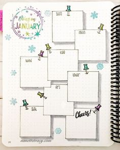 January Layout in my from Catherine Pooler with - Voleta P. January Layout in my from Catherine Pooler with - Voleta P. bullet journal January Layout in my from Catherine Pooler with - Sayira G. January Layout in my @ Bullet Journal School, Bullet Journal Headers, Bullet Journal Notebook, Bullet Journal Ideas Pages, Bullet Journal Spread, Bullet Journal Inspo, Monthly Bullet Journal Layout, Bullet Journal Vacation, Bullet Journal Savings