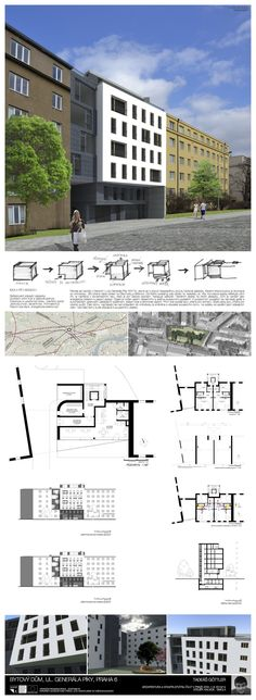 Studentský projekt. LS 2013/2014. FSv ČVUT v Praze. Ideas Para, Floor Plans, Diagram, Buildings, Atelier