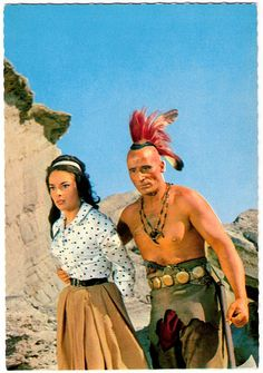 Karin Dor and Ricardo Rodriguez in Der Letzte Mohikaner | Flickr - Photo Sharing!