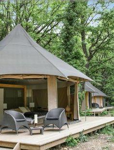 GLAMPING Outdoor... Casa de huéspedes de lujo ecológico | Decorar tu casa es facilisimo.com