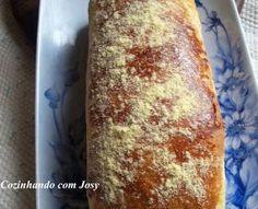 Cozinhando com Josy: Pão Doce de Milho