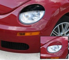 VW Beetle Accessory - GTS VW Beetle 2pc Stylites Eyelids Set
