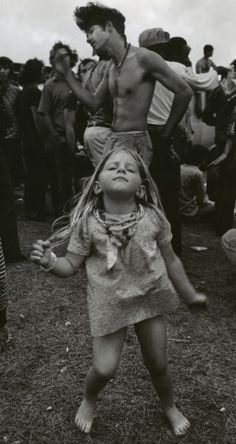 "Woodstock - ""my Dad took me to this place with a million people. i think it was called Woodstock"""