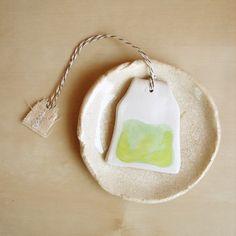 ceramic teabag