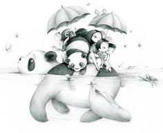 la fiancée au beurre salé: Japan Panda