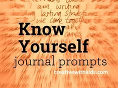 Journal about yourself and find your way back to your own heart. When we know who we are, we're more able to live with intention. The questions this month are meant to help you rediscover who you are right now. Read through, think about them, write or discuss. Come back to the ones that hit you most …