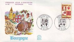 Timbre : 1975 BOURGOGNE   WikiTimbres