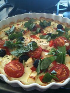 Gluten free vegetable pie. Gluteeniton kasvispiirakka.