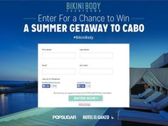 POPSUGAR Enter For a Chance to Win a Summer Getaway to Cabo Sweepstakes