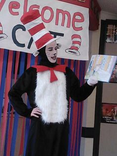 Primrose School of Eldorado celebrates Read Across America Day with Cat in the Hat!