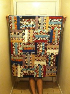 Luke's Quilt! He was born Feb 8, 2013, and weighed in at 7lb, 15oz! Congratulations, Jacob and Cami!