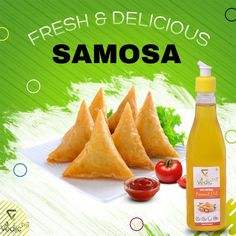 Samose bane aur bhi tasty, jab bane #vedicerapeanutoil ke saath! Order Now on 9818680857 #sesameoil #vedicera #healthyoil #woodpress #traditionalextract #naturalproducts #almondoil #coconutoil #peanutoil #yellowmustardoil #mustardoil #blackmustardoil #natural #pure #organic #foodporn #foodie #foodgasm #foodlover #stayhealthy #healthyfood #cookingoil #edibleoil #purity #tastyfood Healthy Oils, Healthy Recipes, Edible Oil, Mustard Oil, Peanut Oil, Yummy Food, Tasty, Sesame Oil, Cooking Oil