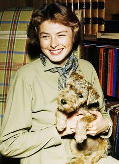 Ingrid Bergman, 1950s -via fab-ingrid