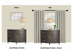 The Magic Trick That Will Solve Your Small Window Problem - The Decorologist