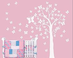 YYone White Tree Wall Decal Murals Graphic Wall Sticker Butterfly Tree Kids Wall Decals YYone http://www.amazon.com/dp/B00KZG3SHQ/ref=cm_sw_r_pi_dp_e9yVtb10R8FA0852