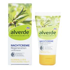 ALVERDE Natural Cosmetics Night Cream Regeneration with Bach Flower 50 ml | Get Some Beauty