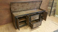 Industrial Media Console The Contemporary 054