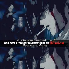 Anime Quote: Gintama WAY TO BREAK MY HEART PINTEREST BY REMINDING ME OF THIS