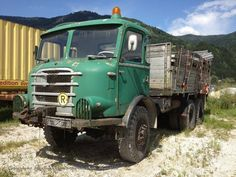 Gräf & Stift Steyr, Cab Over, Busse, Commercial Vehicle, Classic Trucks, Big Trucks, Cars And Motorcycles, Austria, Abandoned