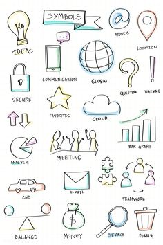 Note Taking Banners Physics And Mathematics Note taking banners & notizen machen ba Bullet Journal Banner, Bullet Journal Notebook, Bullet Journal Ideas Pages, Banner Doodle, Star Doodle, Visual Note Taking, Note Doodles, Sketch Notes, Free Illustrations