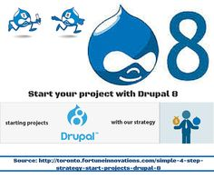 Start your project with #Drupal8.