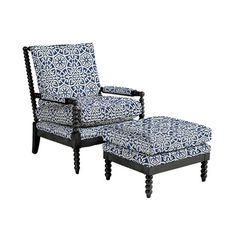 Shiloh Spool Chair and Ottoman Accent Chairs For Living Room, Modern Dining Chairs, Formal Living Rooms, Living Room Decor, Spool Chair, Spindle Chair, Best Chair For Posture, Nursery Glider Chair, Cow Print Chair