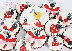 Adorable bug cookies