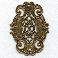 stampings brass (6) - VintageJewelrySupplies.com