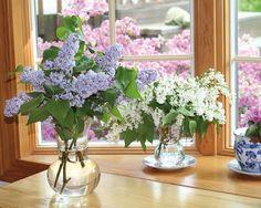 Λουλούδια από τον κήπο στο ανθοδοχείο