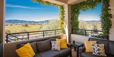 Enjoy sweeping views of the world-renowned Oakville AVA while tasting a wide range of varietals from California's best vineyards. Napa Valley Wineries, Napa Sonoma, Outdoor Furniture, Outdoor Decor, Vineyard, California, Cheese, World, Vine Yard