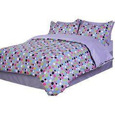 Microfiber Bed in the Bag, Dots - Walmart.com