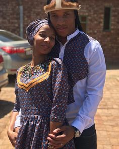 HOW TO WEAR SESHOESHOE TRADITIONAL WEDDINGS ATTIRE? Traditional Wedding Attire, Traditional Weddings, Traditional Fabric, Blouse And Skirt, African Dress, Trousers, Gowns, Shorts, How To Wear
