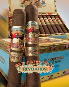"San Cristobal ""Revelation"" Cigars   #cigar #cigars"