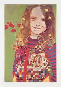 a level art: Archive Child Portraits, Peter Blake, A Level Art, Inspirational Artwork, Pretty Art, Figure Painting, Beautiful Paintings, James Bond, Artist At Work