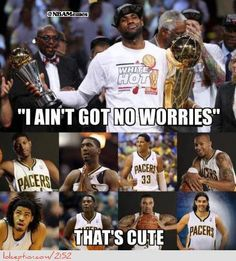 Watch out Miami, the Indiana Pacers are loaded! - http://hoopsternation.com/meme/watch-out-miami-the-indiana-pacers-are-loaded