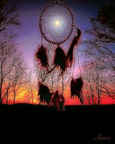 Dreamcatcher. According to Native Americans, dreams that humans have while they sleep, are sent by sacred spirits as messages. According to their Legend, in the center of the Dream Catcher there is a hole. Good dreams are permitted to reach the sleeper through this hole in the web. As for the bad dreams, the web traps them and they disappear at dawn with the first light.
