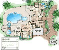 Dream Estate - 66071WE floor plan - Main Level